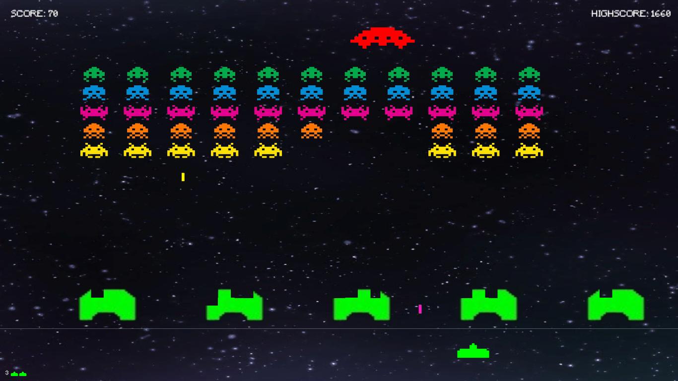 GitHub - danz1ka19/Space-Invaders-Unity-Clone: Remake version of