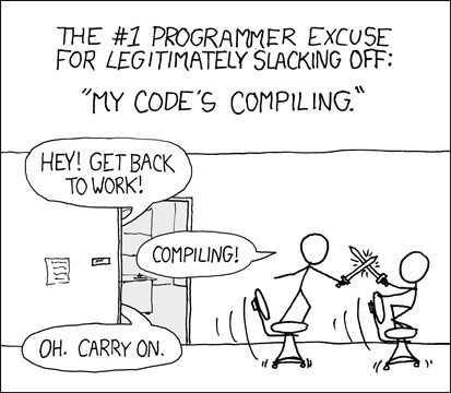 XKCD Code's Compiling