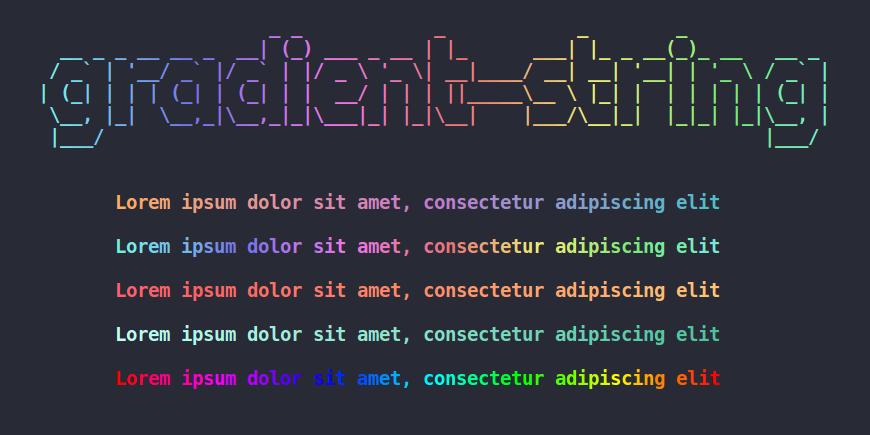 css font color gradient
