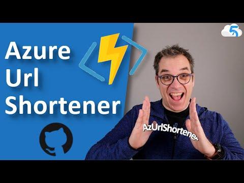 YouTube thumbnail of the Az URL Shortener quick tour video