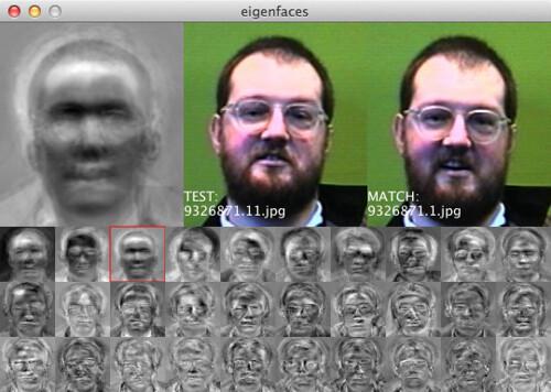 Eigenfaces in Processing