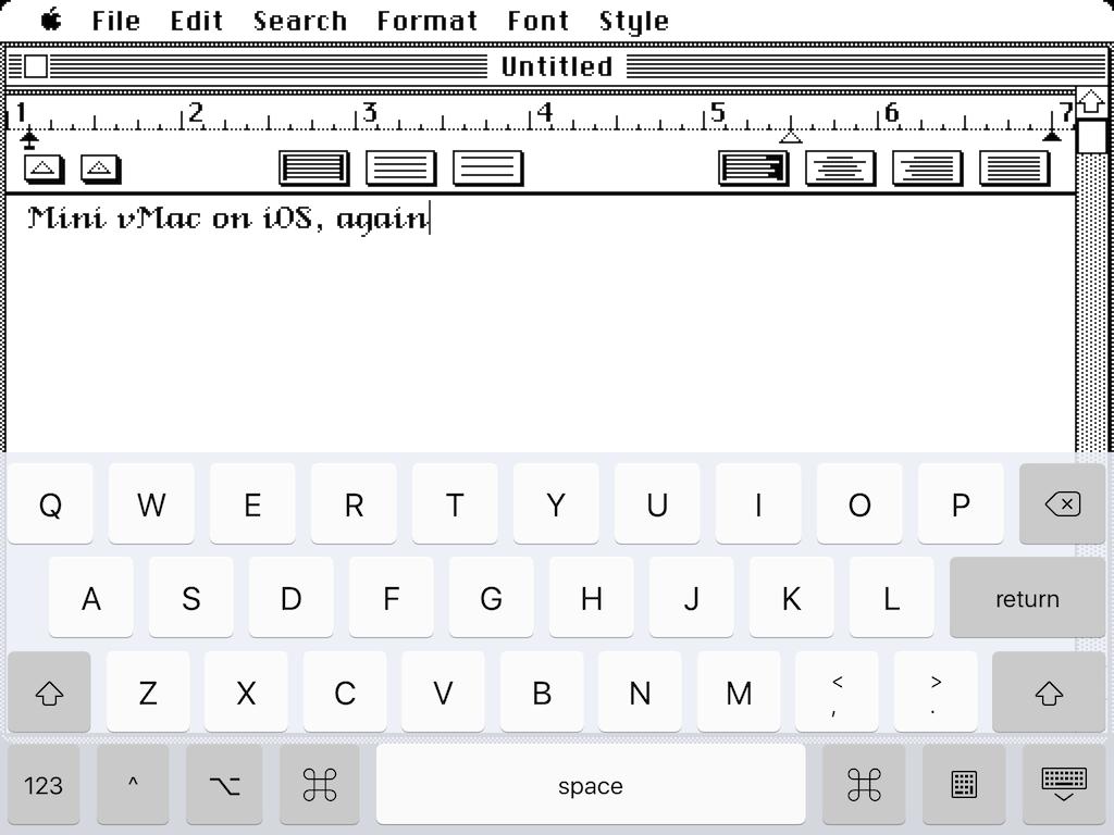 Mini vMac image 1