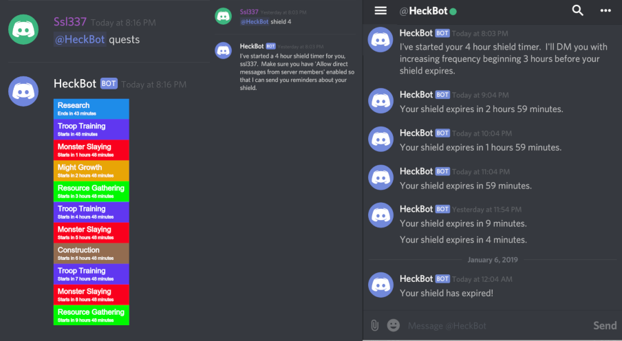 GitHub - NerdArray/HeckBot: A sharded Discord bot that