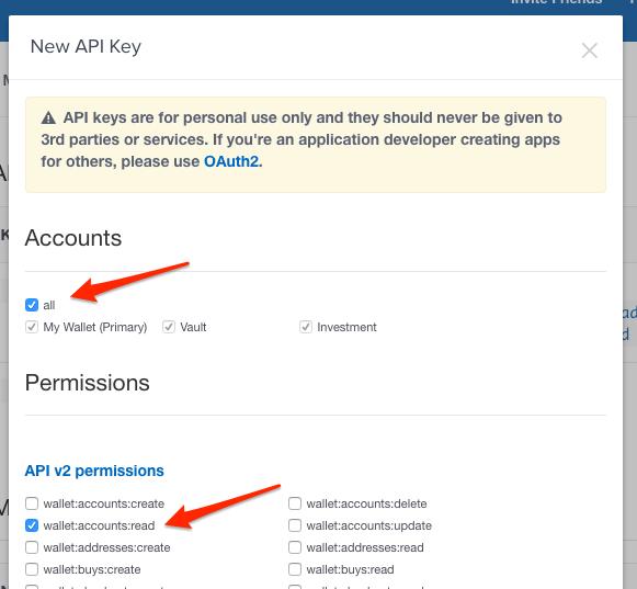 Configure your API Key