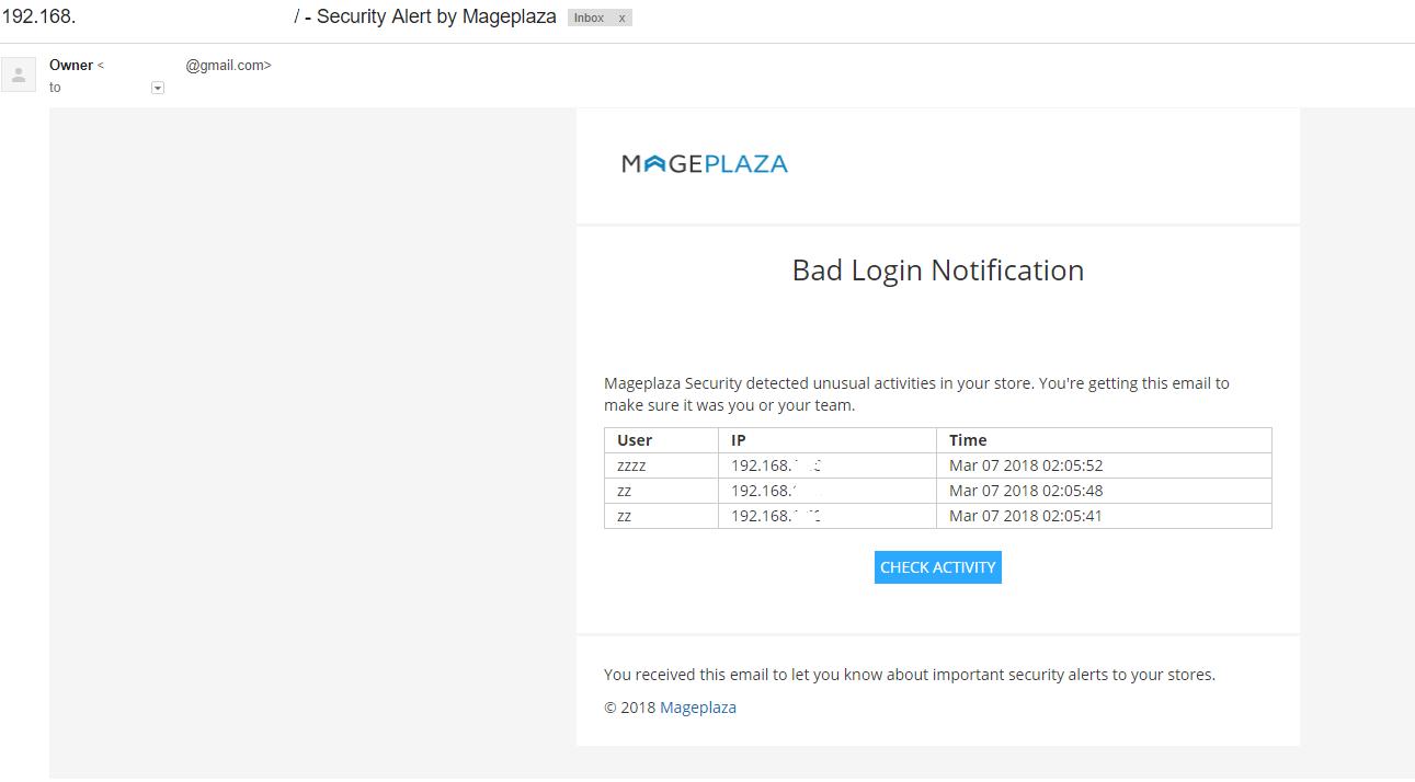 Magento 2 Security Configuration