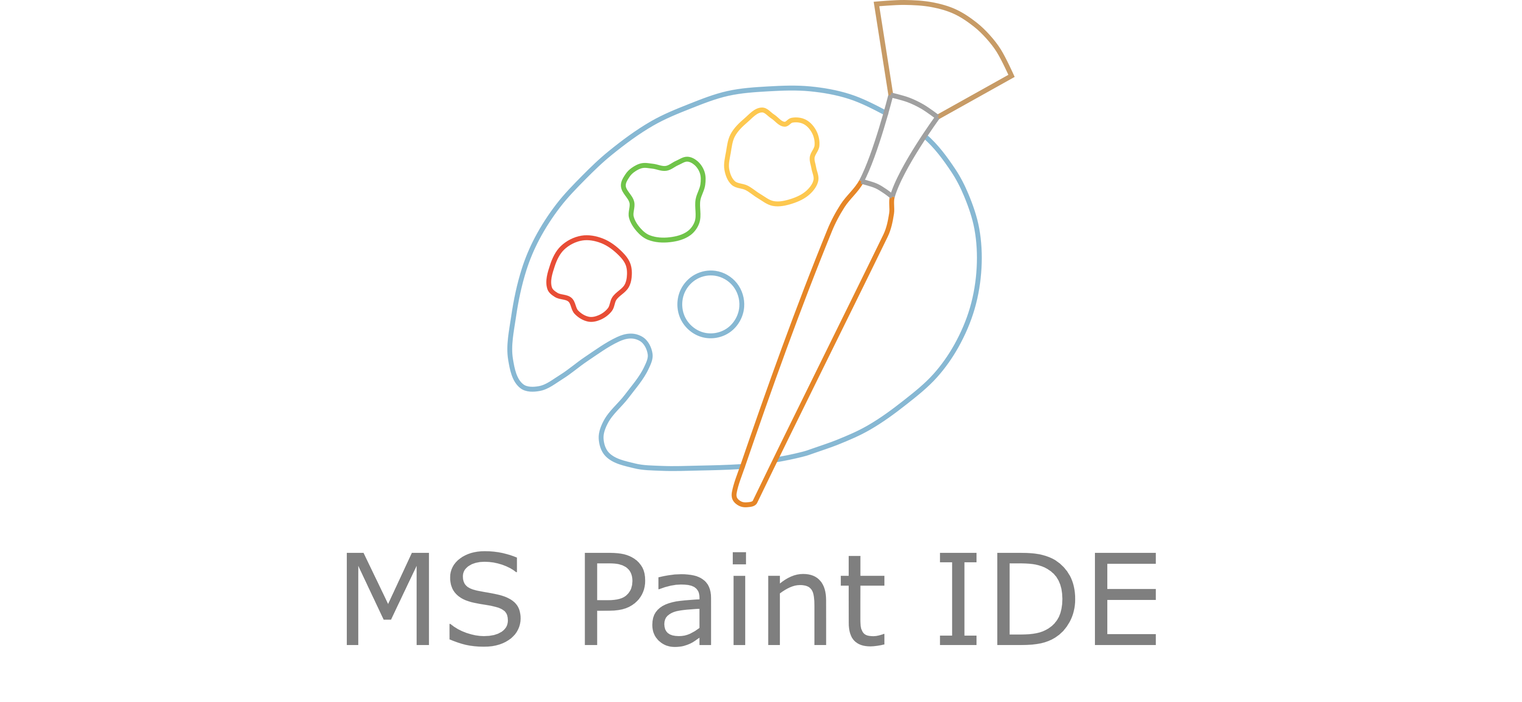 MS Paint IDE Logo header