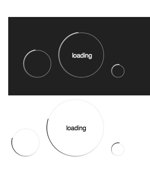 js spinner component