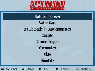 Basic Game List