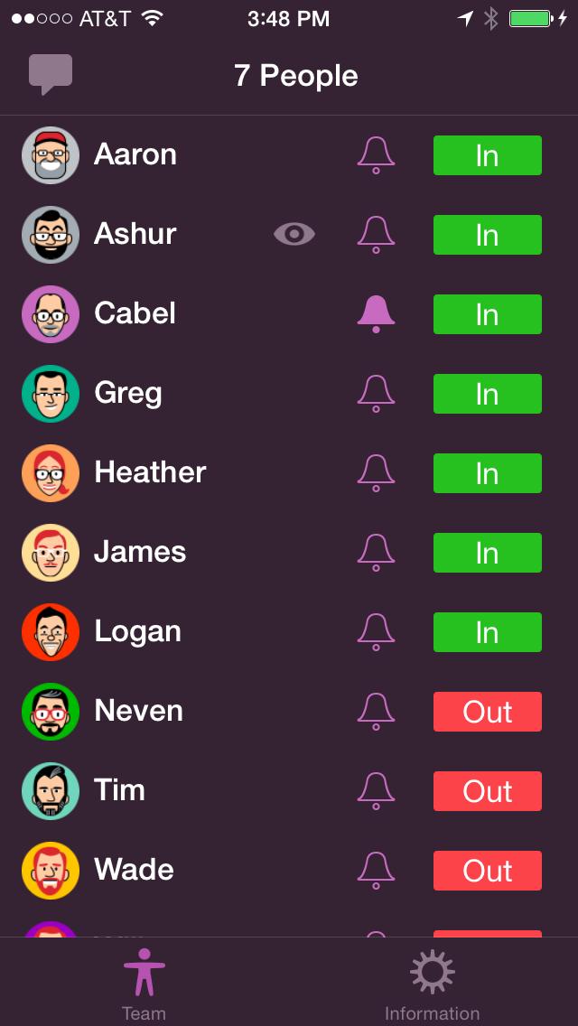 PunchClock Screenshot