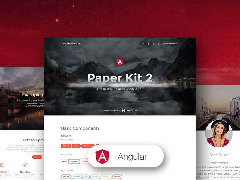 Paper Kit 2 Angular