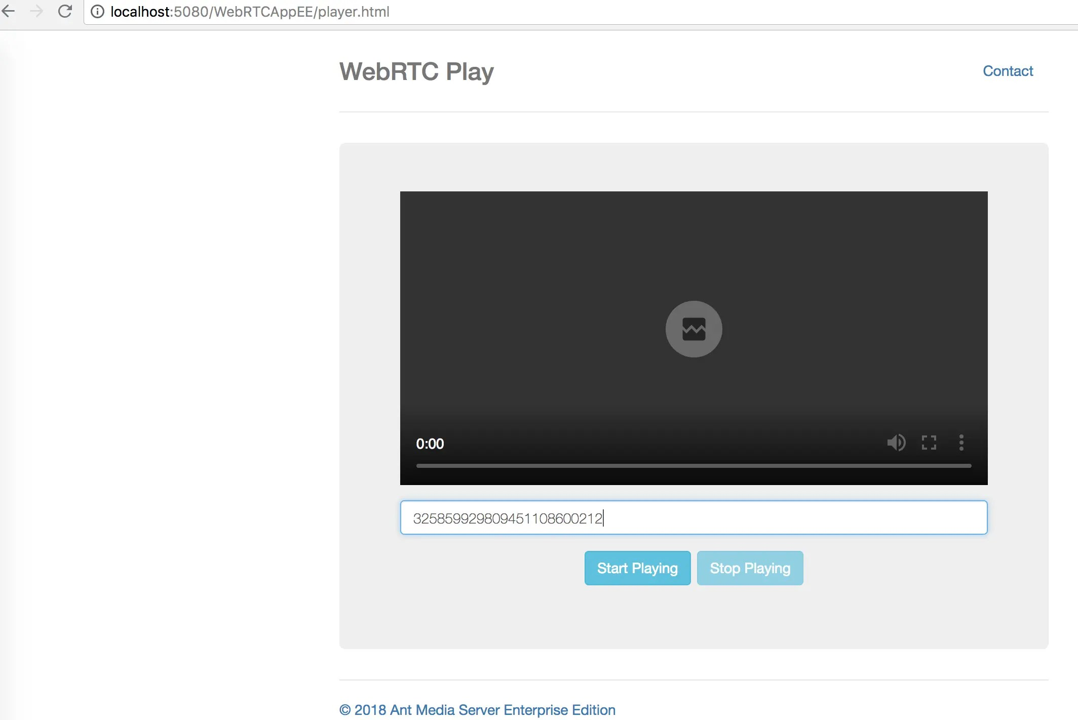 Publish with RTMP & Play with WebRTC · ant-media/Ant-Media