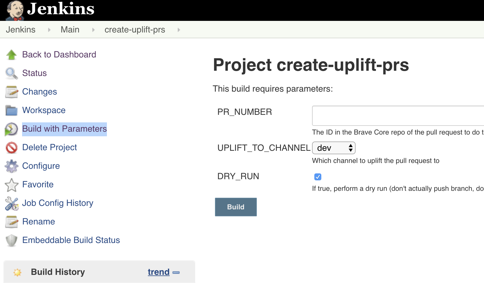 Uplift your pull request with Jenkins