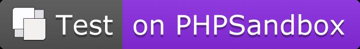 PHPSandbox Notebook