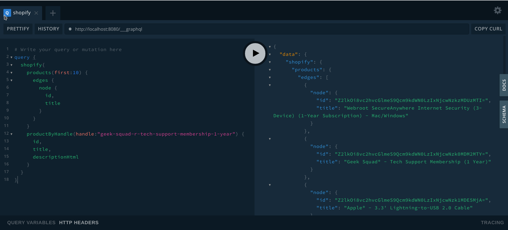 Mapping GraphQL Plugin to Types/Routing (Shopify) · Issue