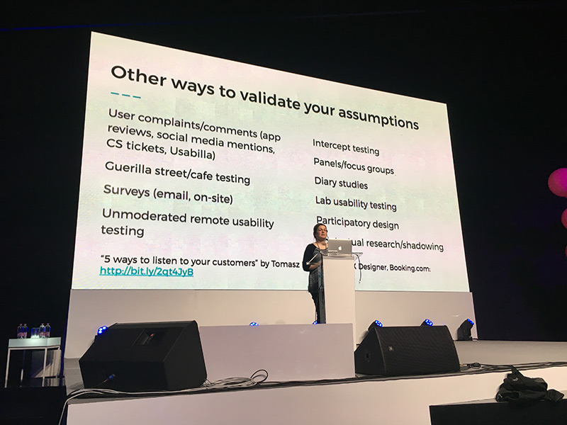 Zoe's talk