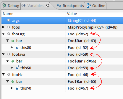 Java deserialization of non-static inner classes fail in 3 1