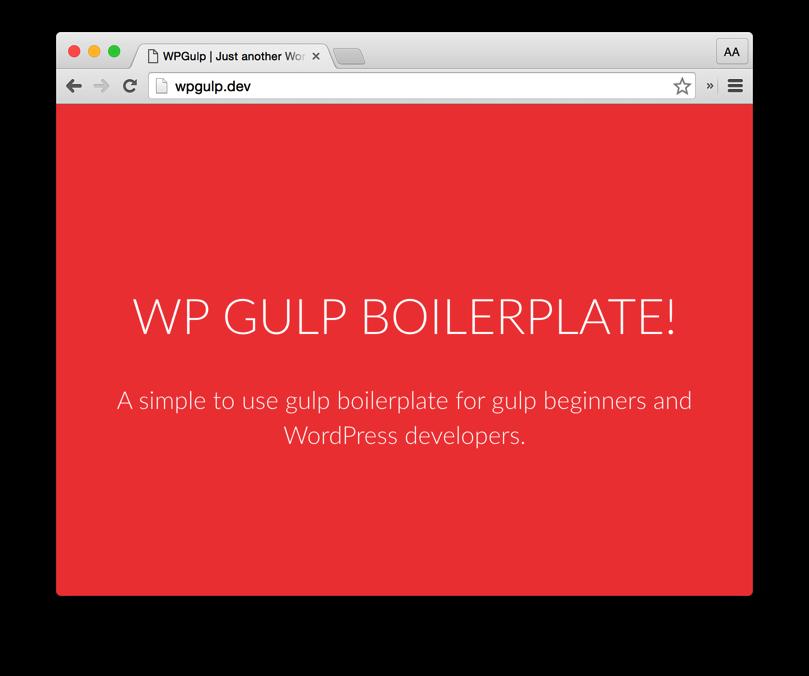 WPGulpTheme