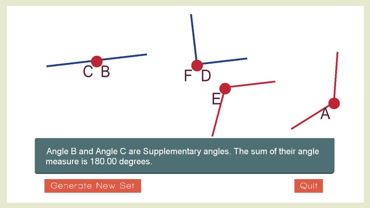 angle summation