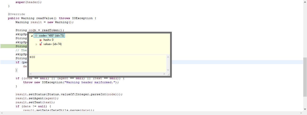 Severe error on parsing the Warning HTTP Header · Issue