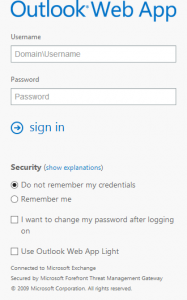 Forefront TMG Forms Based Authentication Template for Exchange 2013 - Mobile