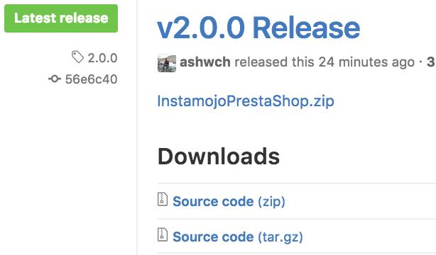 GitHub - Instamojo/InstamojoPrestaShop: Instamojo's payment