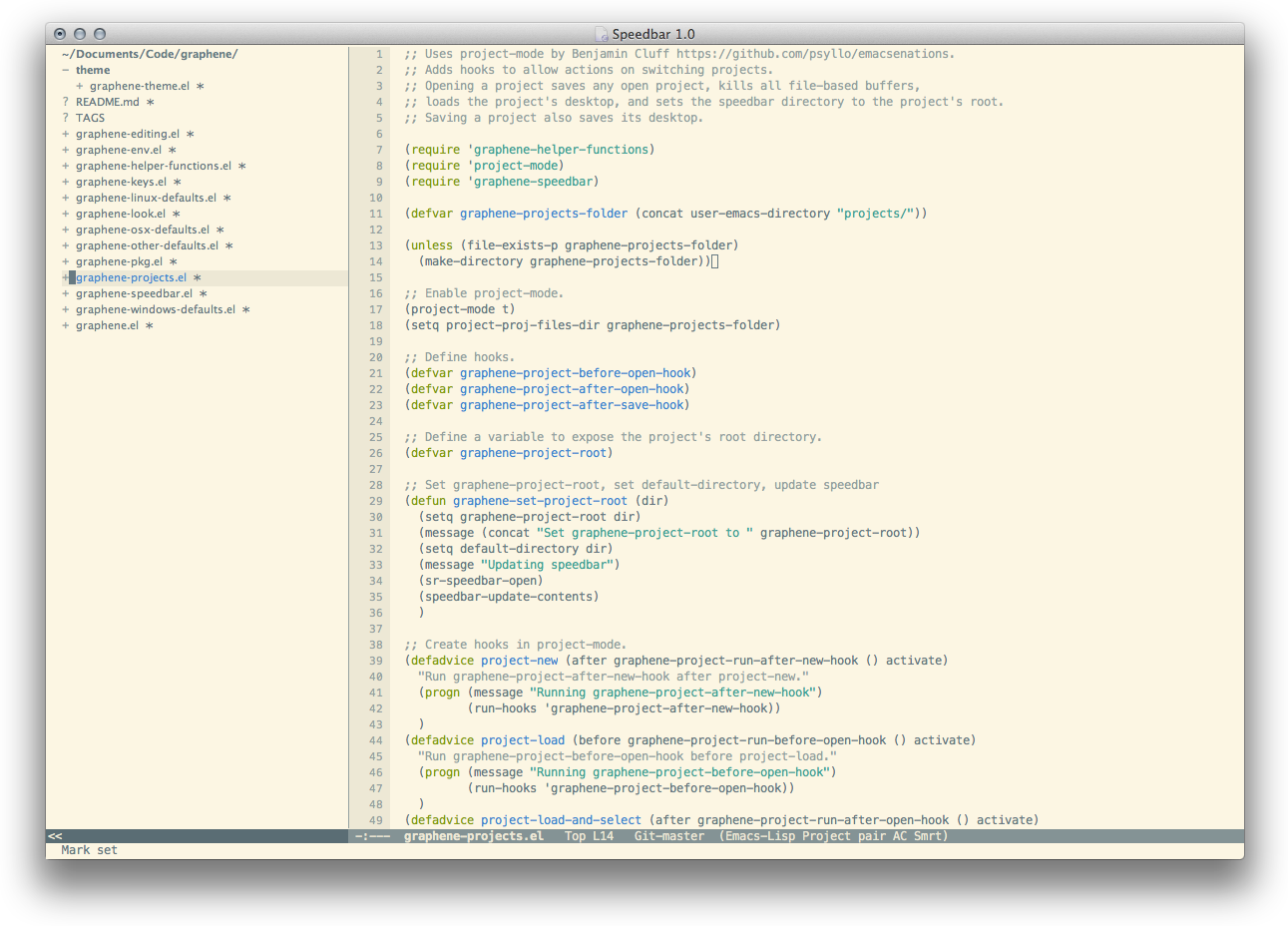 Github Rdallasgray Graphene A Set Of Defaults For Emacs