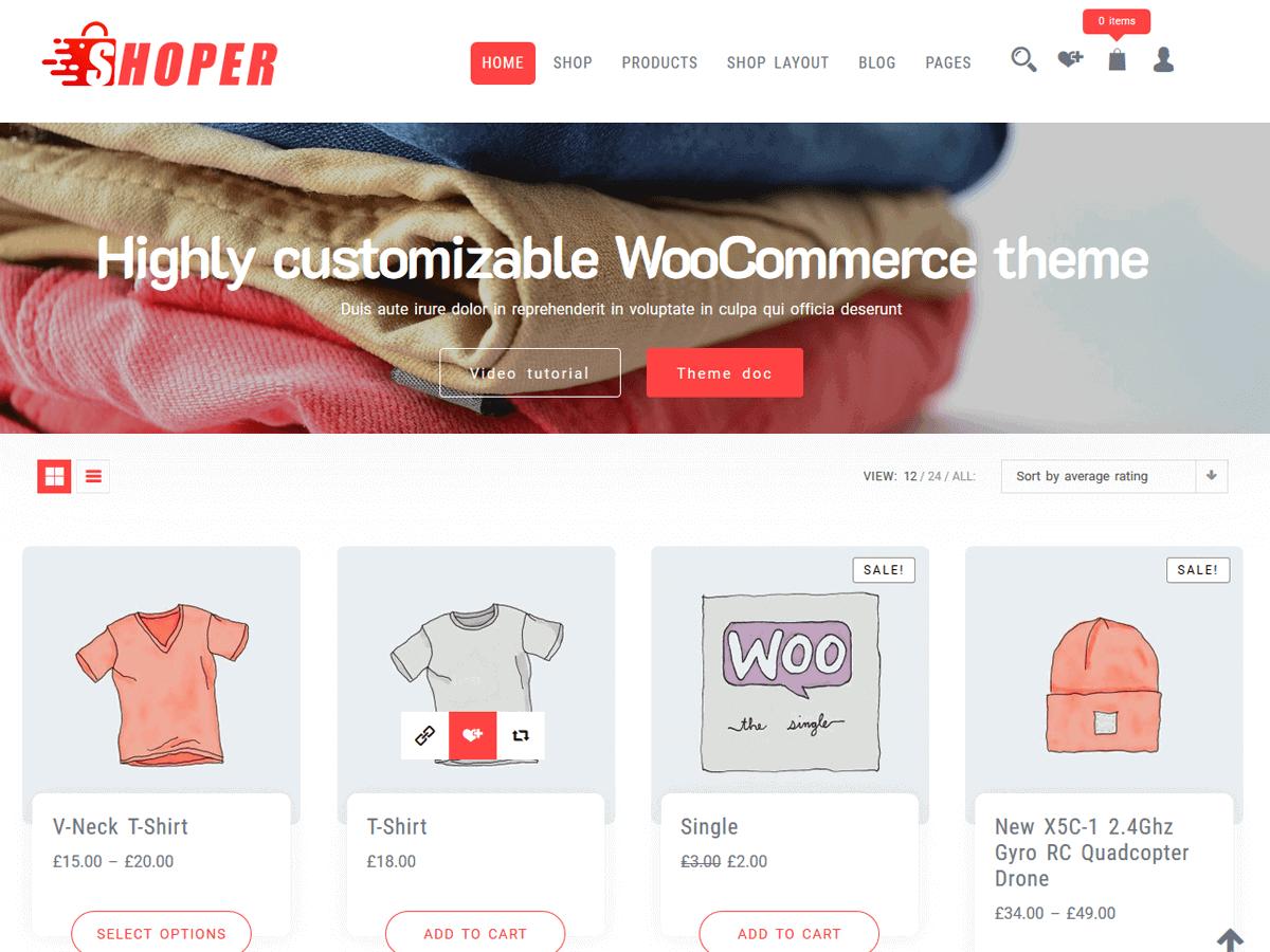 Best WooCommerce Theme