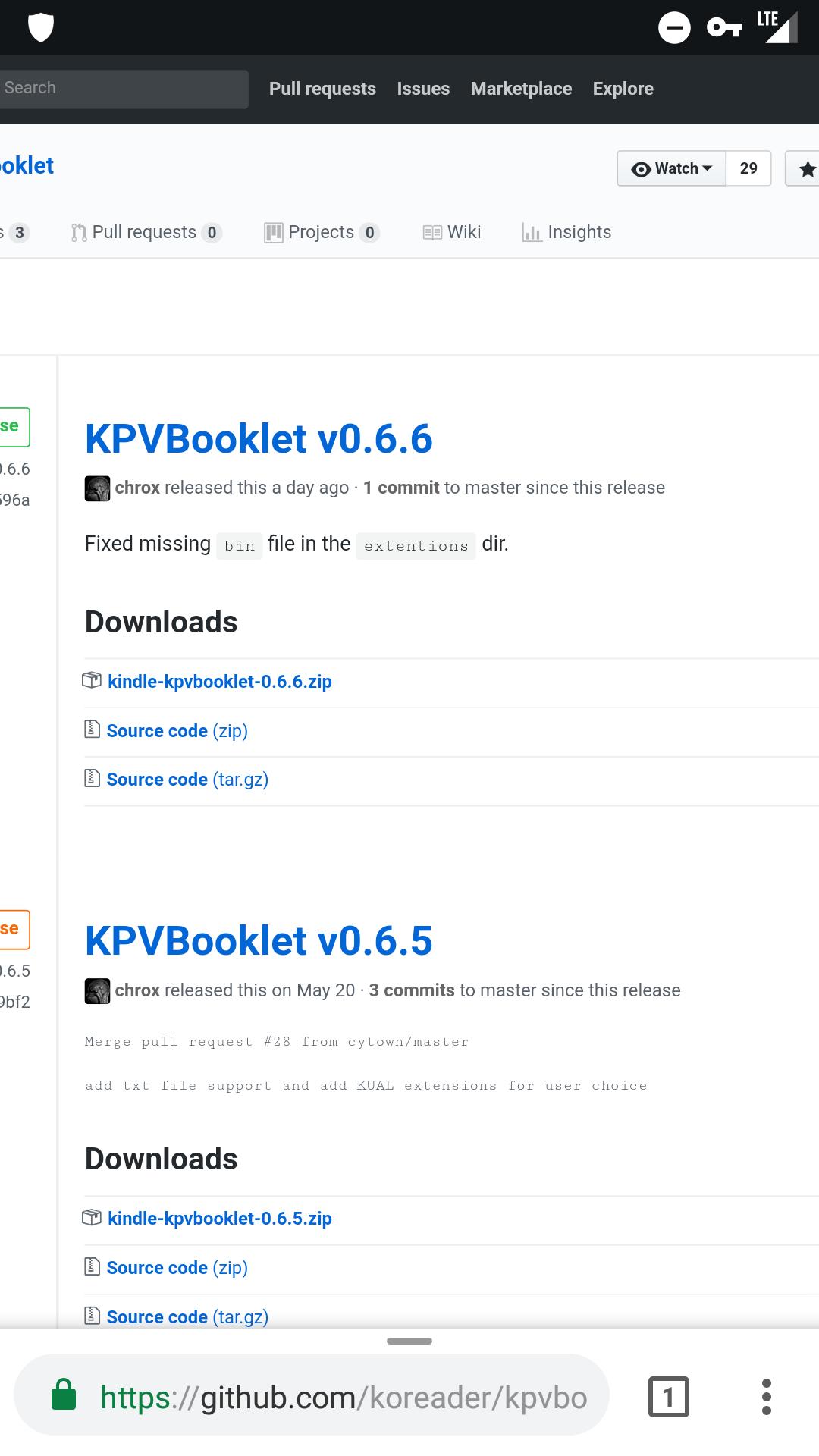 The new version 0 6 6 still isn't fully functioning  · Issue