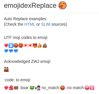 emojidex replace image