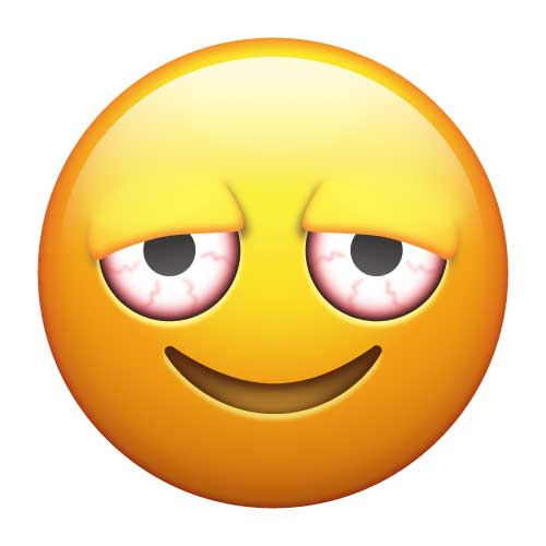 Poker sign and pill emoji