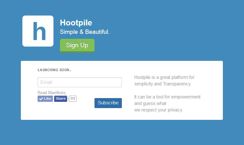 hootpile logo