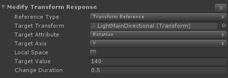 Modify Transform Response