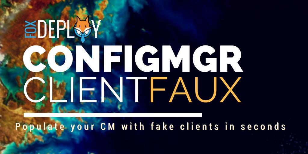 ClientFaux logo, think 'sly like a fox'
