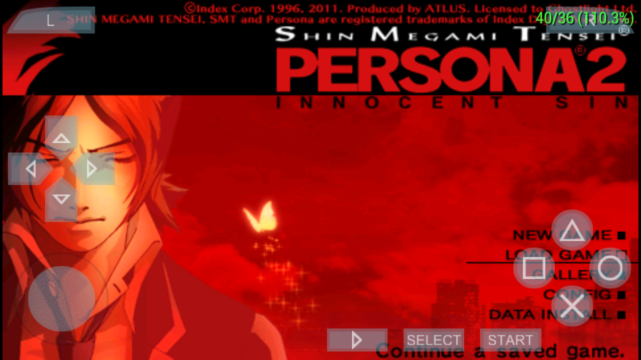 Persona 2 innocent sin's transparency issues are back in the Android