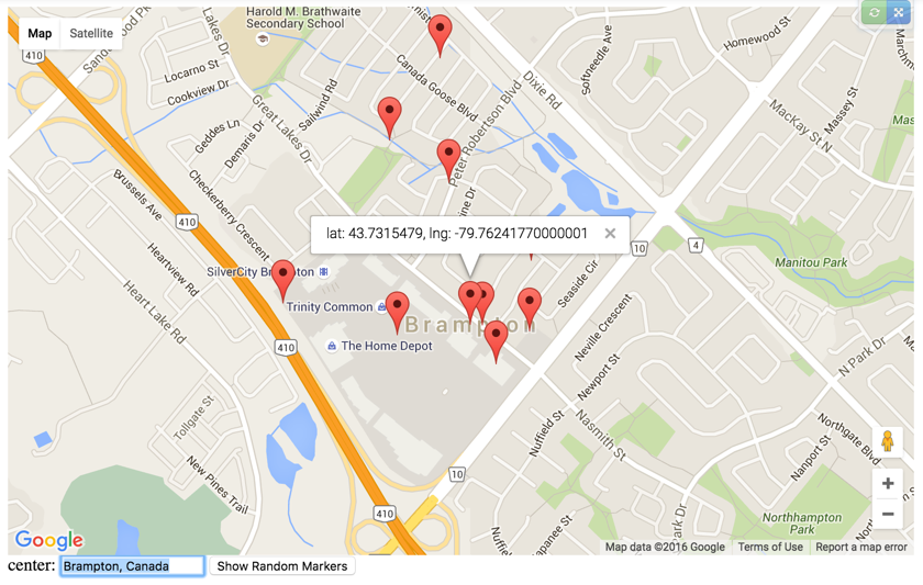 GitHub Nguimap Angular Google Maps Directives - Picture of a map