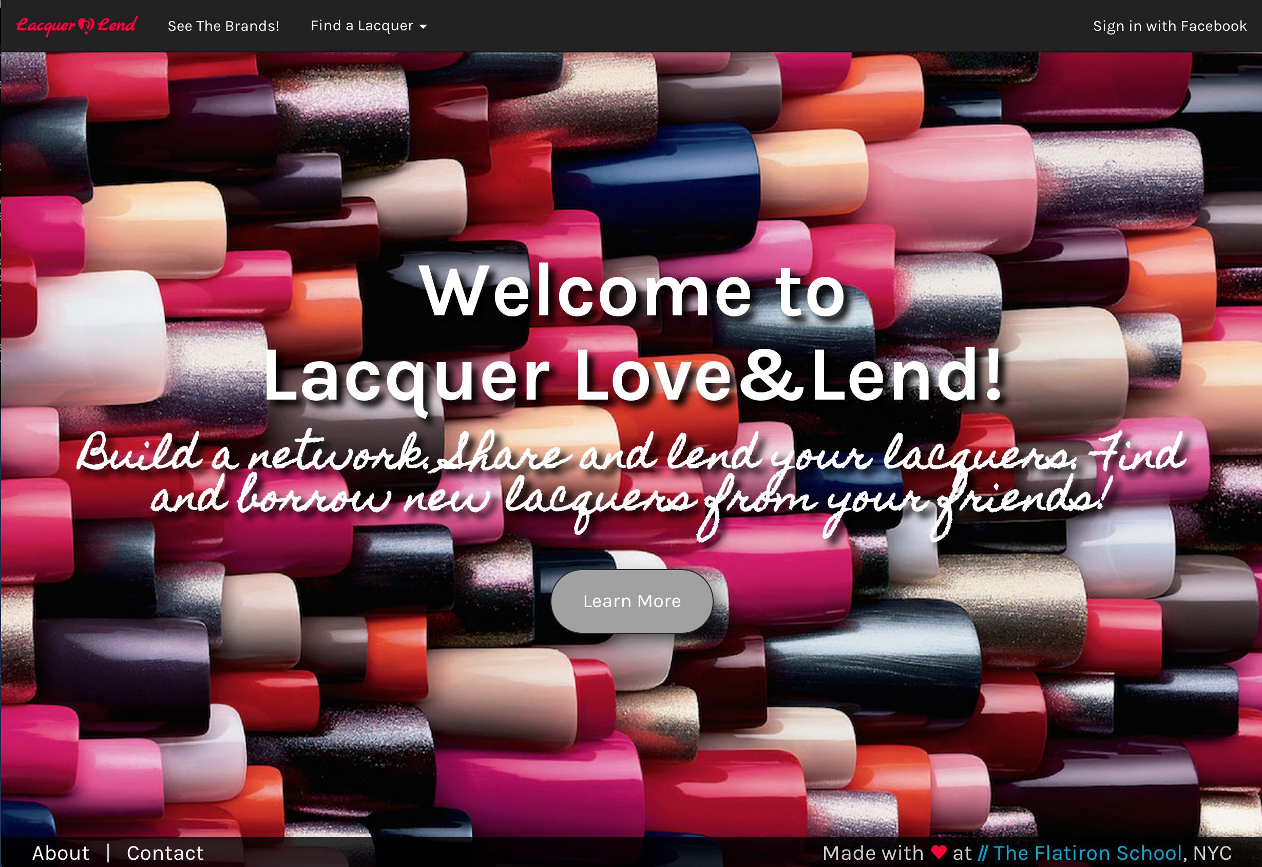 Lacquer Love&Lend