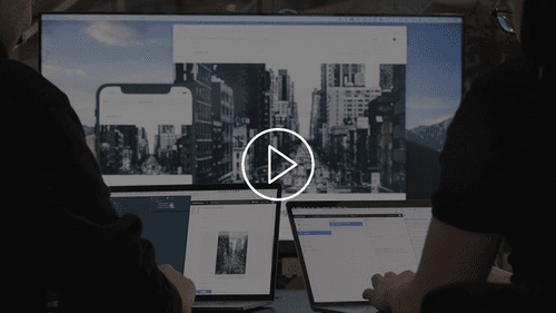 Watch a video about the company website built with Gatsby using Sanity.io as a headless CMS