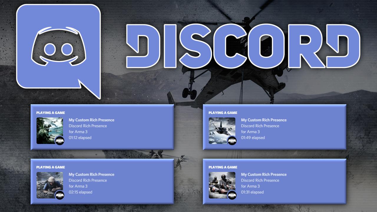 Arma 3 Discord Rich Presence - README md · GitHub