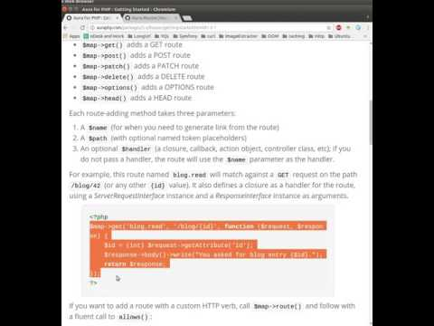 Version 3 video tutorial on Aura.Router