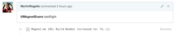 GitHub Pull Request Screenshot