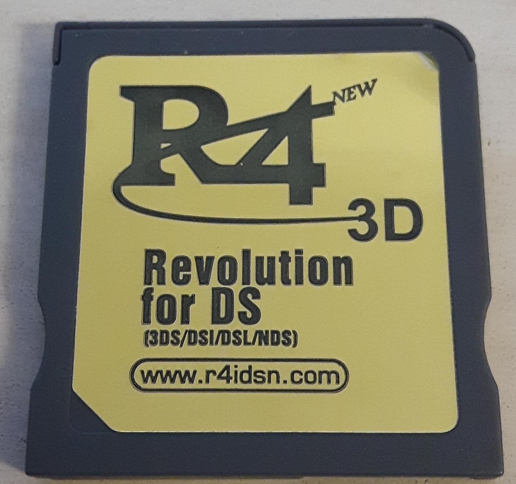 I think the r4idsn has the same chip like the R4i Gold 3DS RTS