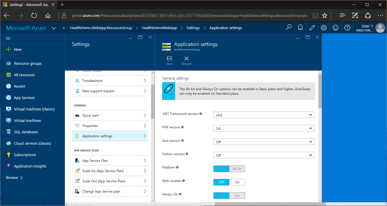 Create and deploy an ASP NET web app in Azure App Service