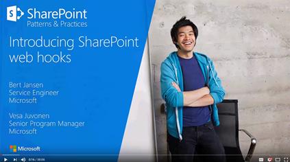 PnP webcast - Introducing SharePoint webhooks
