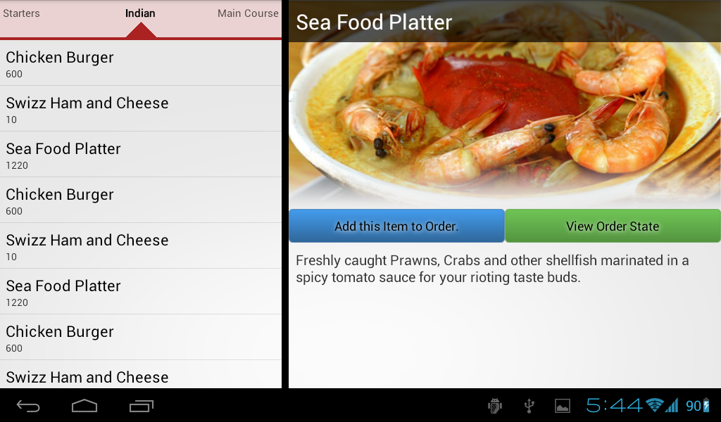Top Five Restaurant App Android Source Code Github - Circus