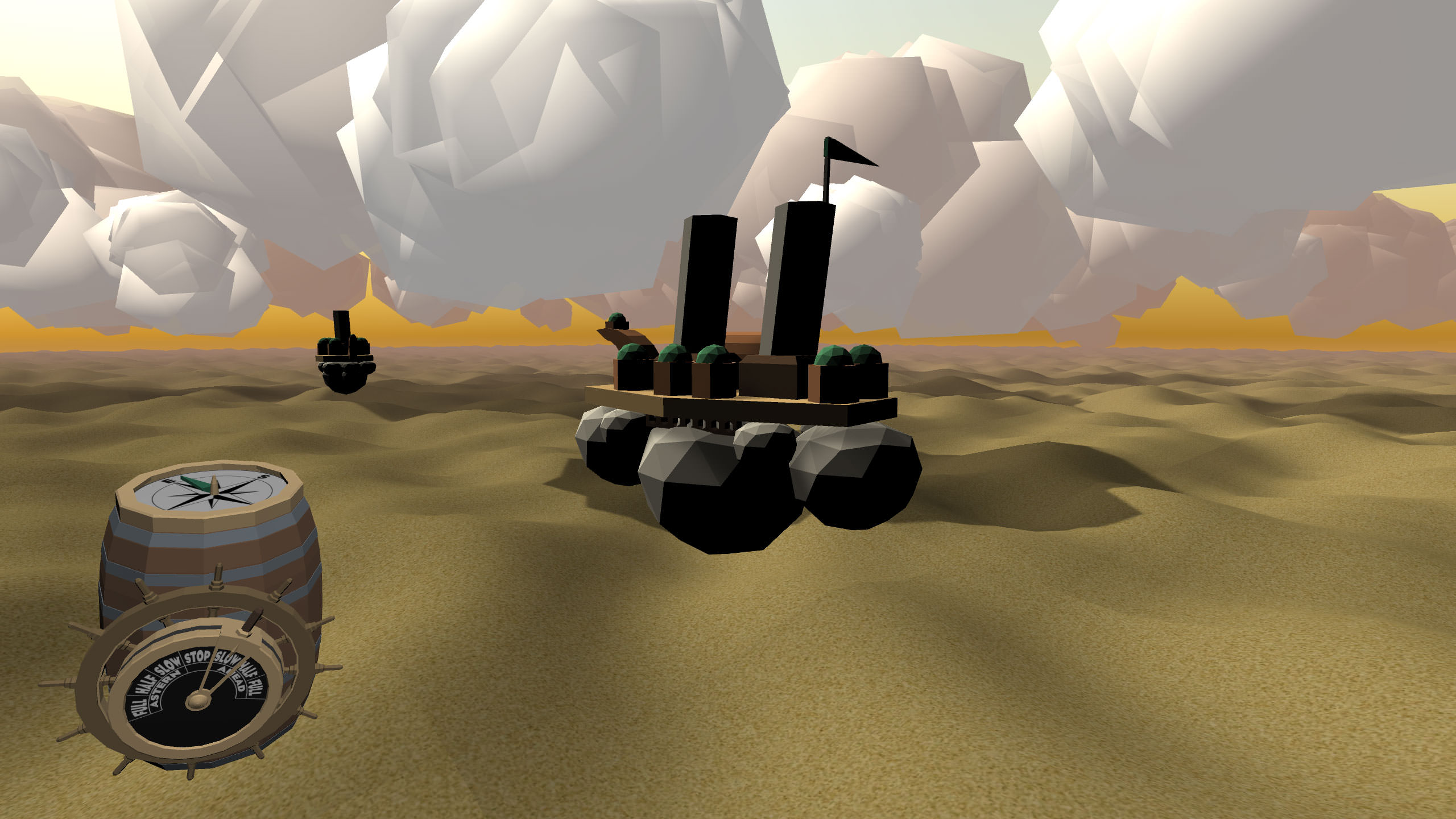 A screenshot of the game running as of version 0.13