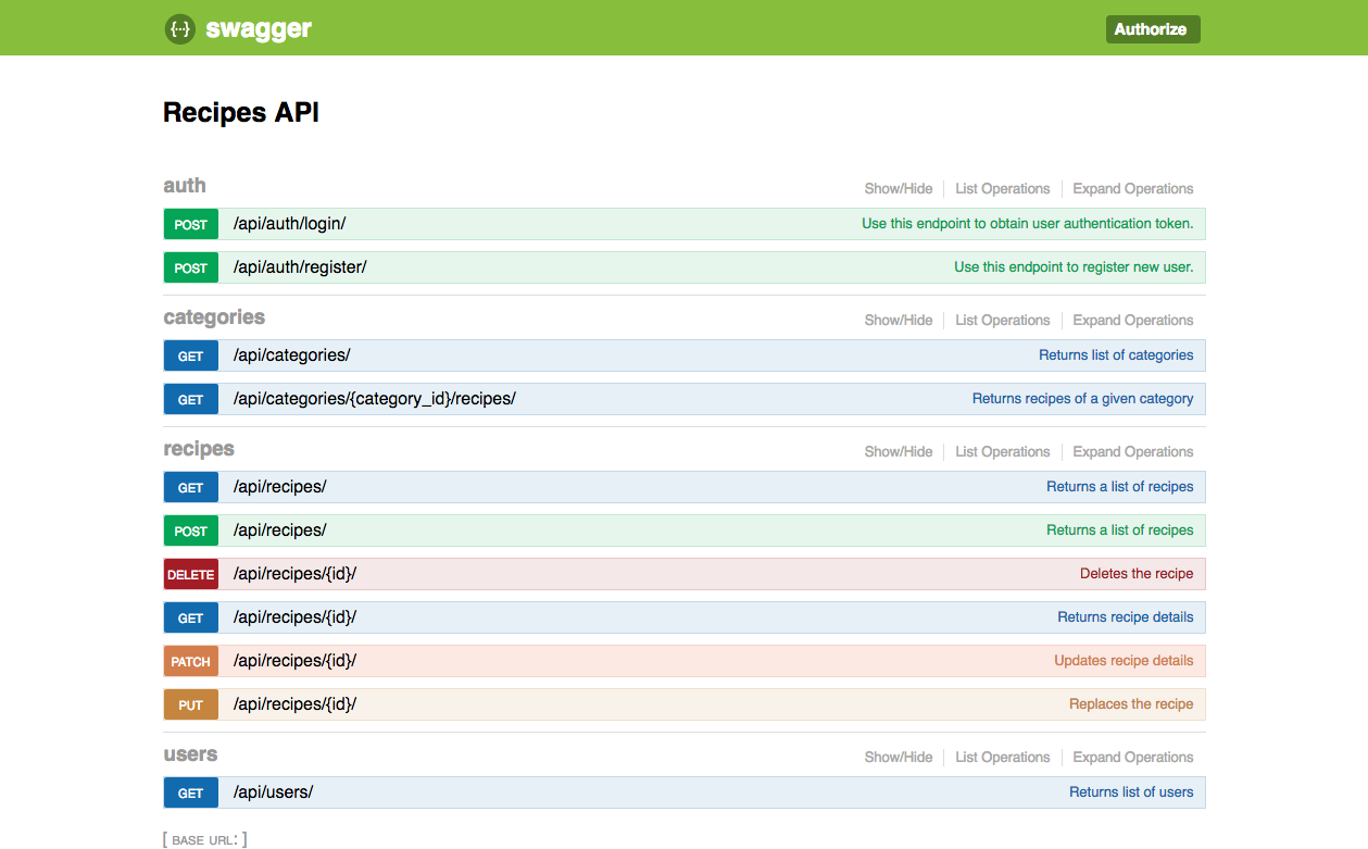 Github r3econrecipes python backend api serving food recipes but whats there forumfinder Image collections