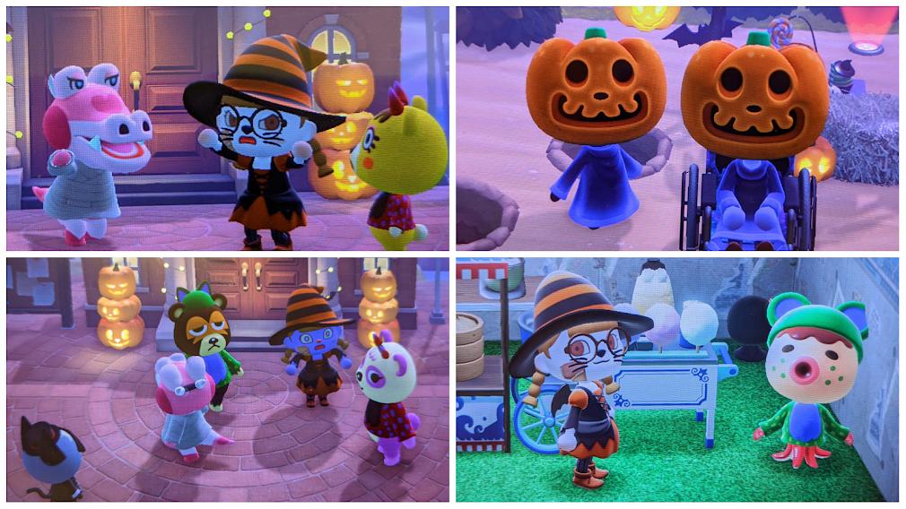 Halloween in Animal Crossing