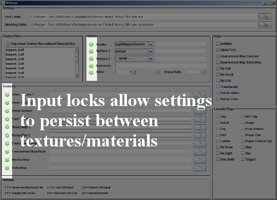 Input Locks