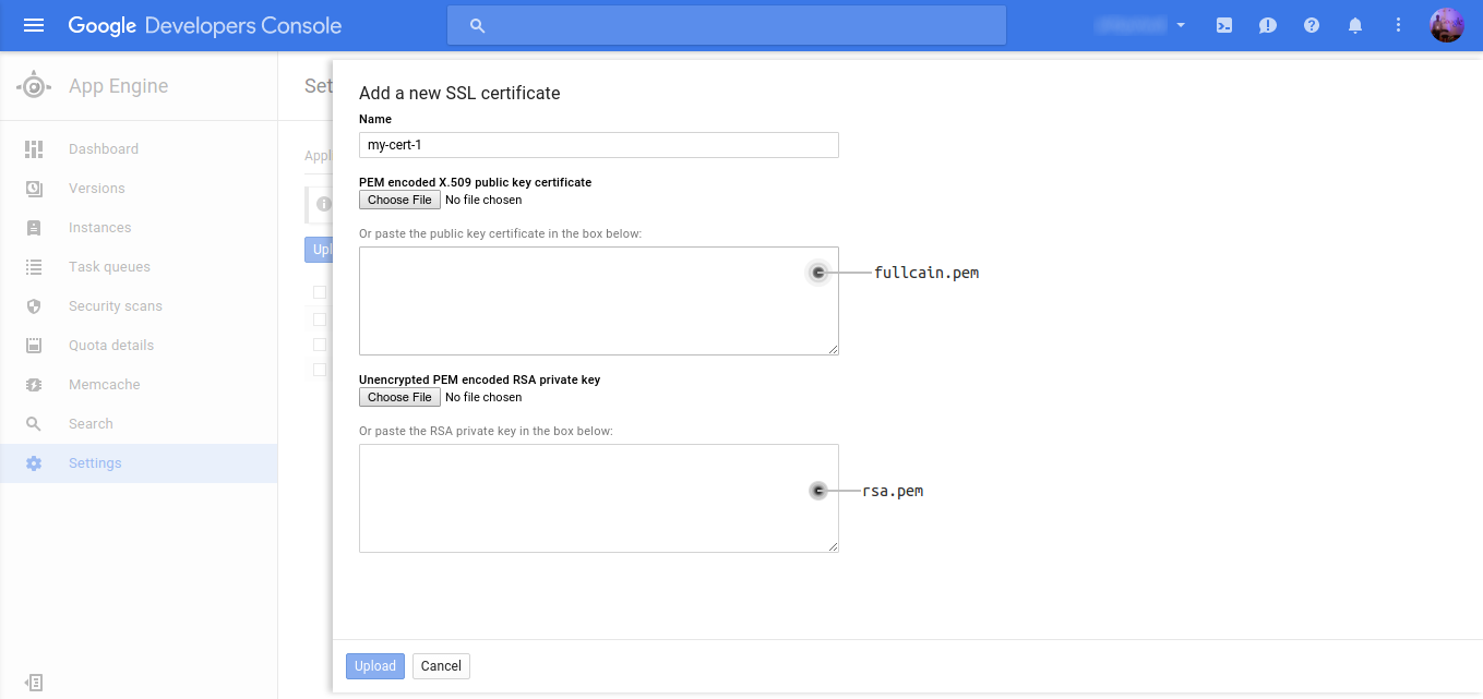 Set Up Https For Google App Engine Using Lets Encrypt Github