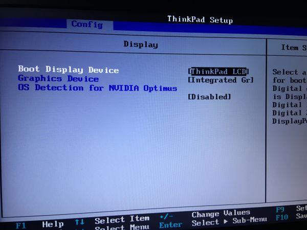 ThinkPad T530 Hackintosh BIOS Settings
